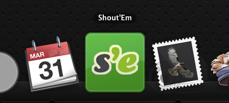 Shout'Em on Your Desktop? Awesome!
