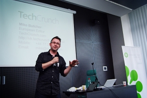 Mike Butcher of Techcrunch
